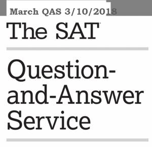 Official SAT Tests Archives - SAT Quantum