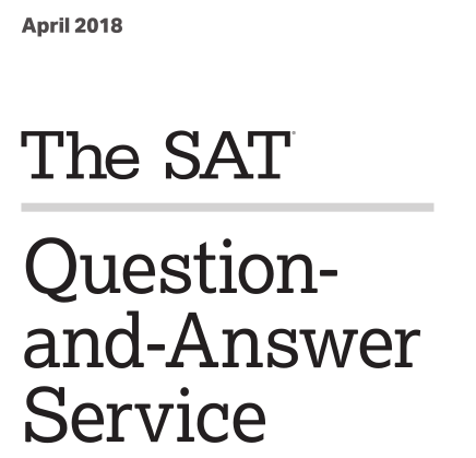 Official SAT Tests Archives - SAT Quantum